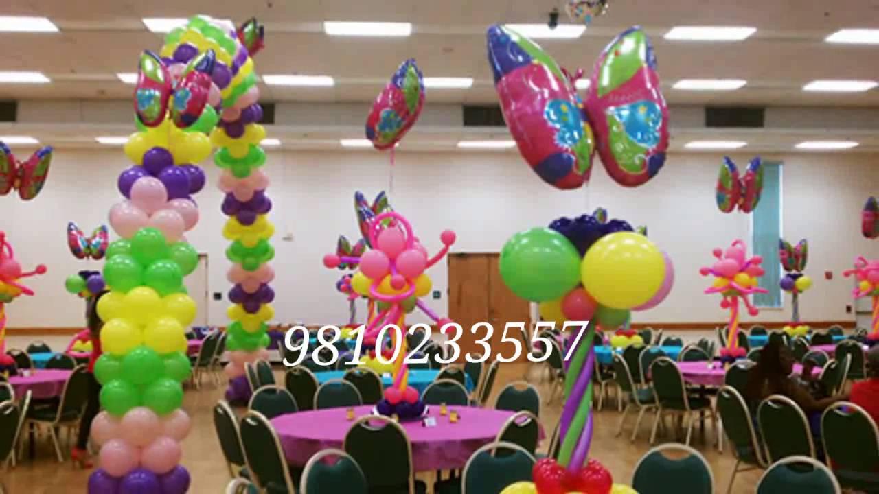 Butterfly N Garden Theme Birthday Party