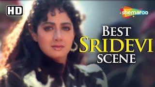 Sridevi wins Amitabh Bachchan's heart scene from Khuda Gawah - Remembering Srideviji