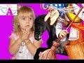 Вредные детки Баба ЯГА и Кот украли коня у принцессы Мериды Bad Baby!