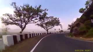 Panchgani to Wai-10Km downhill cycling ride video- Breathtaking pure bliss for cyclists