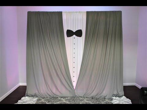Tuxedo Backdrop DIY | How To