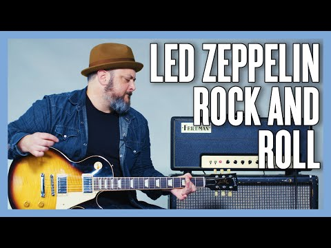 Led Zeppelin Rock And Roll Guitar Lesson + Tutorial