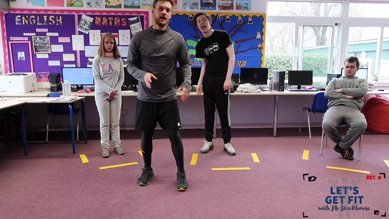 Let's Get Fit With Mr Stackhouse | Week 2