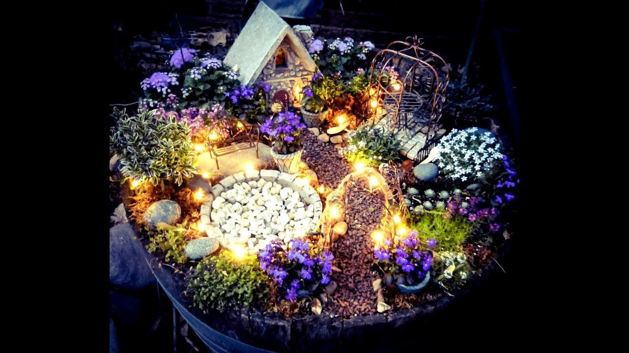 50 Fabulous Fairy Garden Design Ideas - YouTube