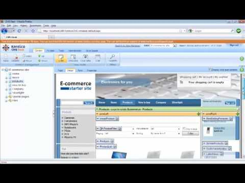 Kentico CMS 5.0 Sorting And Paging With The Product Datalist
