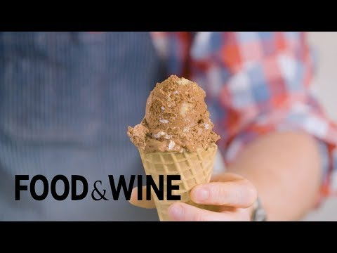 Rocky Road Ice Cream Without an Ice Cream Maker   Mad Genius Tips   Food & Wine