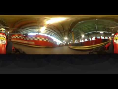 Sidetracked 360 Cam Go-kart Test