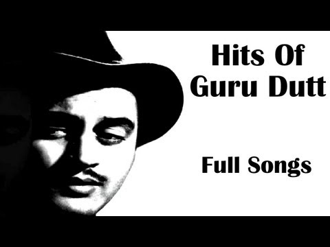 Best Of Guru Dutt   Audio Jukebox (HQ)   Guru Dutt Hit Songs