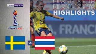 สวีเดน 5-1 ไทย | ไฮไลท์ฟุตบอลโลกหญิง
