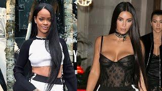 Rihanna Shades Kim Kardashian For Stealing Her Look?