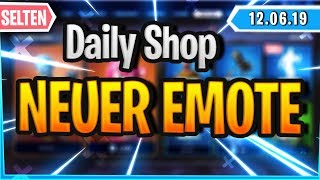 'NEW'EMOTE ' RARE SKINS IN SHOP - Fortnite Daily Shop (12 juin 2019)
