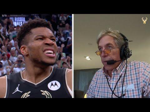 Best Of Ted Davis: Bucks 2021 NBA Championship Radio Calls Featuring Giannis, Khris, Jrue and more!