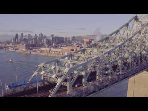 Connexions vivantes : Une œuvre lumineuse pour le pont Jacques-Cartier