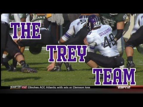 Northwestern Wildcats Football: The Trey Team