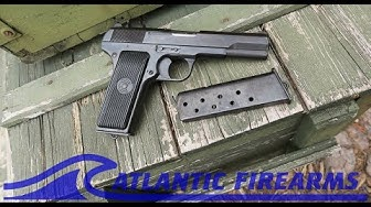 Yugoslavian M57 Tokarev Pistol -Zastava 7.62x25 Military Surplus at Atlantic Firearms