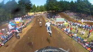 GoPro HD: Derek Anderson Moto 1 Lap 2012 Lucas Oil Pro Motocross Championship Washougal
