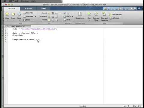 Matlab: statistics