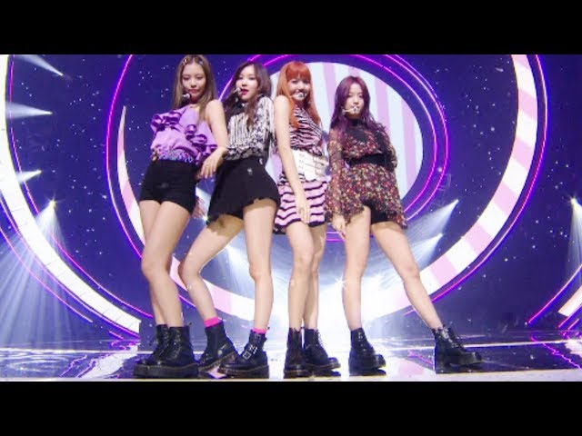 EXCITING BLACKPINK () - AS IF ITS YOUR LAST () @ Inkigayo 20170709