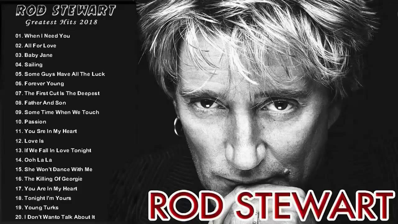 Rod Stewart As Melhores Músicas Completo As 20 Melhores Músicas De Rod Stewart Youtube