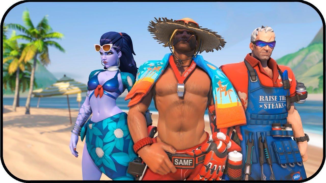 Overwatch   Summer 2017   Animated Wallpaper 4K 60fps