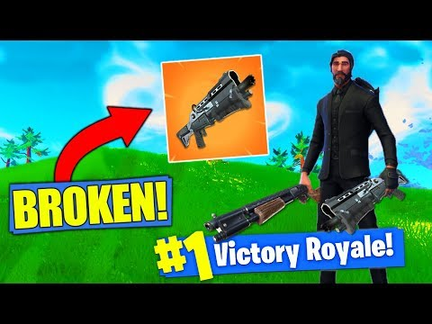 The NEW Double Shotgun Strategy In Fortnite Battle Royale!