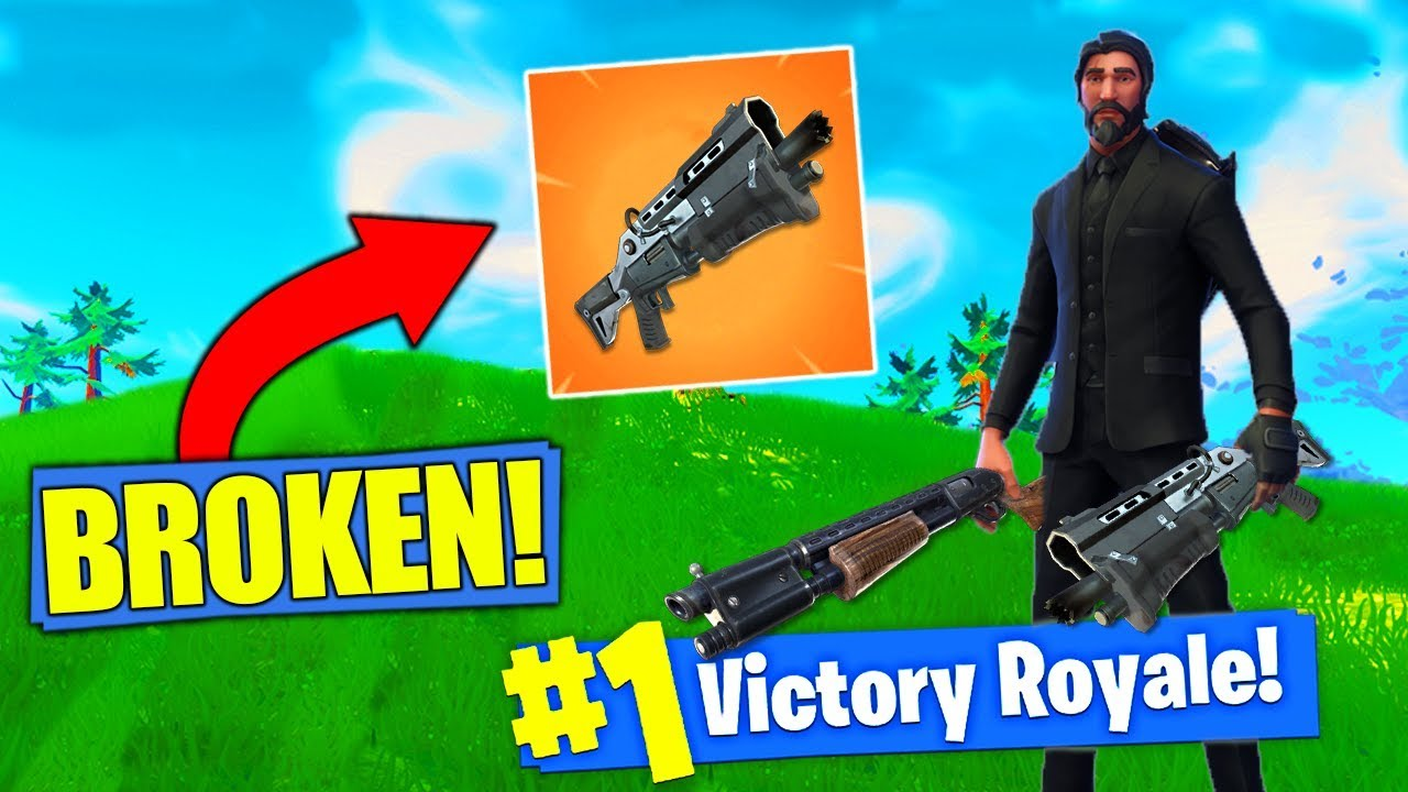 The NEW Double Shotgun Strategy In Fortnite Battle Royale! Video