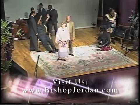 2 of 7: Vicki Jamison-Peterson Healing Service PT. 3 - Master Prophet E. Bernard Jordan