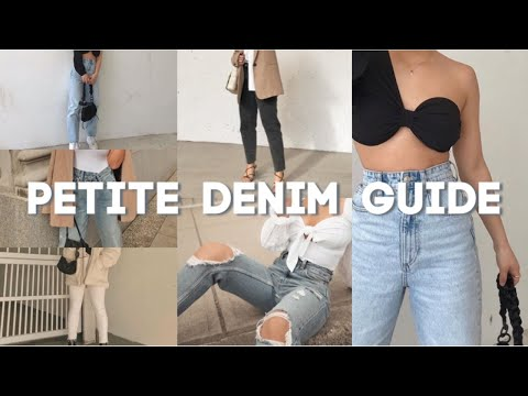 BEST JEANS FOR PETITES WITH CURVES | MY DENIM COLLECTION