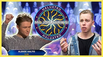 HALUATKO MILJONÄÄRIKSI 🤑 Ft. ALEKSI AALTO