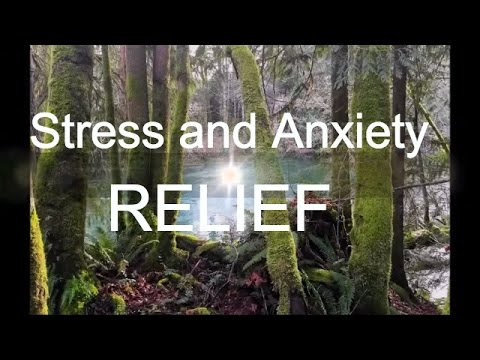 Stress and Anxiety Relief Hypnosis (female voice)  with theta waves