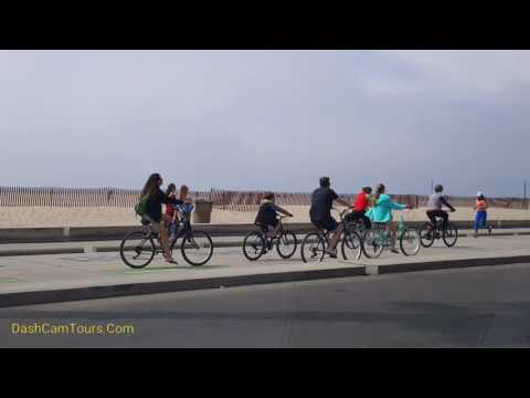 2017 Los Angeles Driving Tour: Santa Monica City Beach & Streets