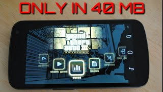 [New ] GTA 3  only 40 mb highly compressed full game apk + data    with link