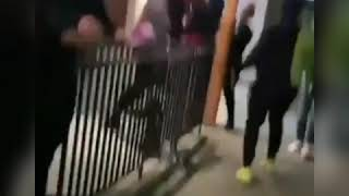 DaBaby big ass security guard fights fan over a damn picture
