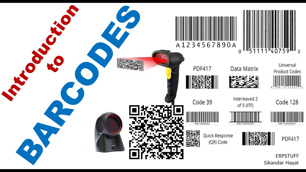 what kind of barcode do i need