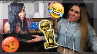 vuclip SHE'S REALLY MAD I WON? 2K17 MY PARK AWARDS REACTION!