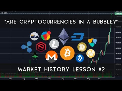 """""""Are Cryptocurrencies in a bubble?"""" 