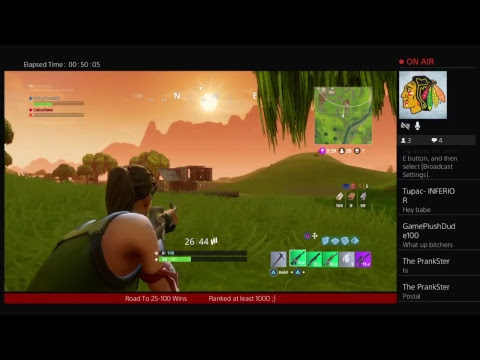 xxPostal06xx's Live. Free!!! Fortnite and chill Live 28 to 100 Wins  Top 1000