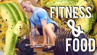 Fitness & Food Diary - Schmale Schulter