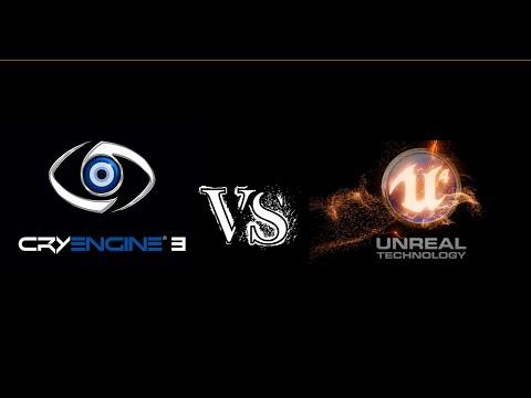 Unreal Engine 4 vs Cry Engine 3 Graphics Battle / Batalla de Graficos