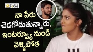Samyuktha Hegde Angry on Nikhil for Blaming her  Exclusive - Filmyfocuscom