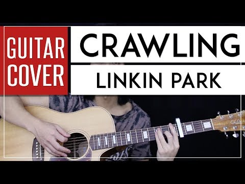Crawling Guitar Cover Acoustic - Linkin Park 🎸 |Tabs + Chords|