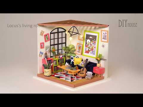 Descargar Video Интерьерный 3D конструктор DIY House Комната музыканта Locus's Living Room