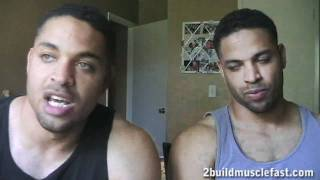 Best time to Take Whey Protein Shake hodgetwins
