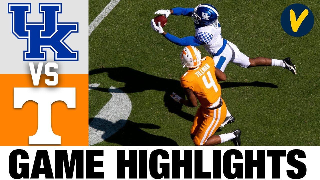 Kentucky vs #18 Tennessee Highlights | Week 7 2020 College Football Highlights