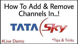 How To Add & Remove Channels in TATA SKY Android App | TATA SKY मैं अपना पैक बनाना सीखें screenshot 2
