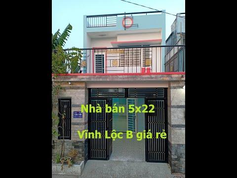 (Đã bán) Bán nhà phố 1T 1L Vĩnh Lộc B giá rẻ