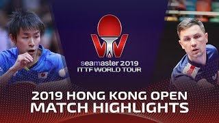 Ливенцов / Пайков vs Koki Niwa / Jun Mizutani | Hong Kong Open 2019 (Pre)