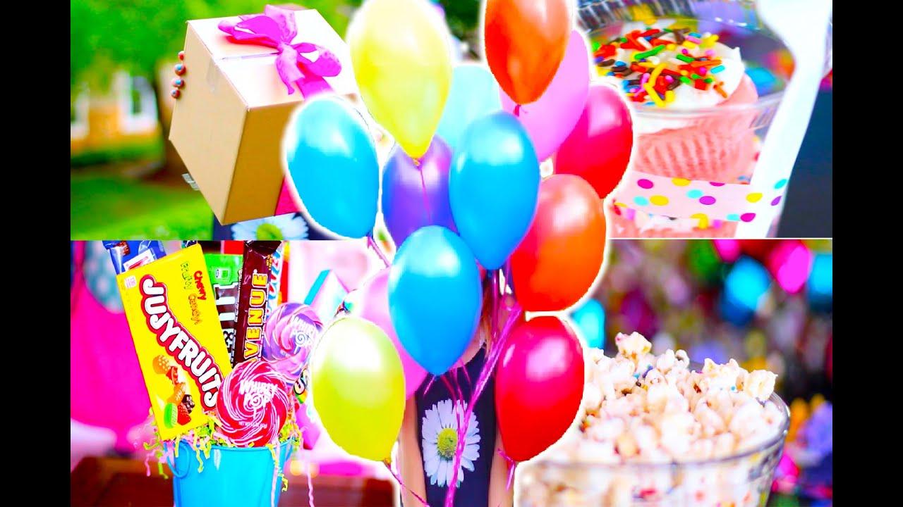 DIY Birthday Presents and Treats