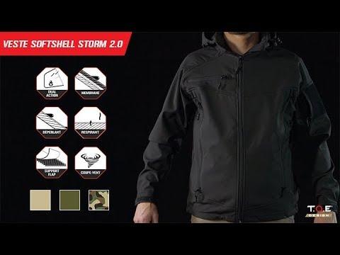 Storm Blouson Surplus Hector Softshell Noir g6YbfyI7vm