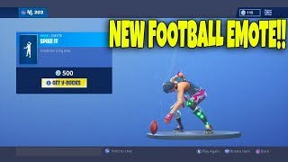"NEW ""Spike It"" EMOTE IS OUT! Fortnite ITEM SHOP [November 10th] 